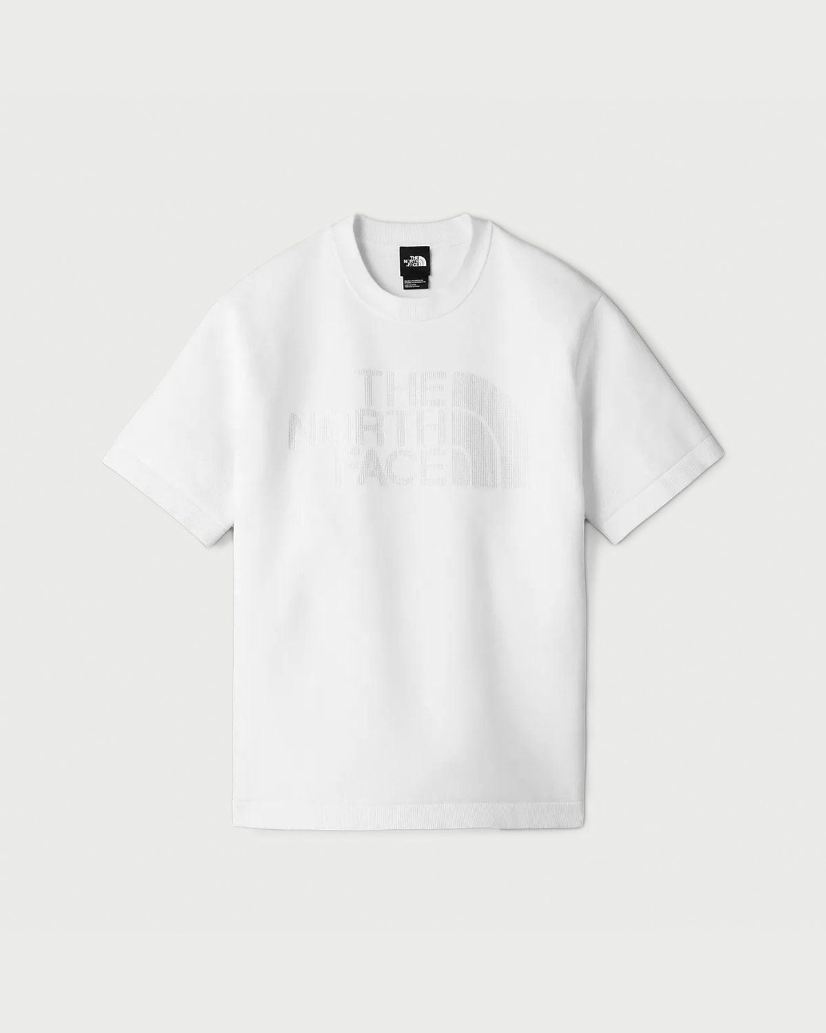 The North Face Black Series - Engineered Knit T-Shirt White - Image 1