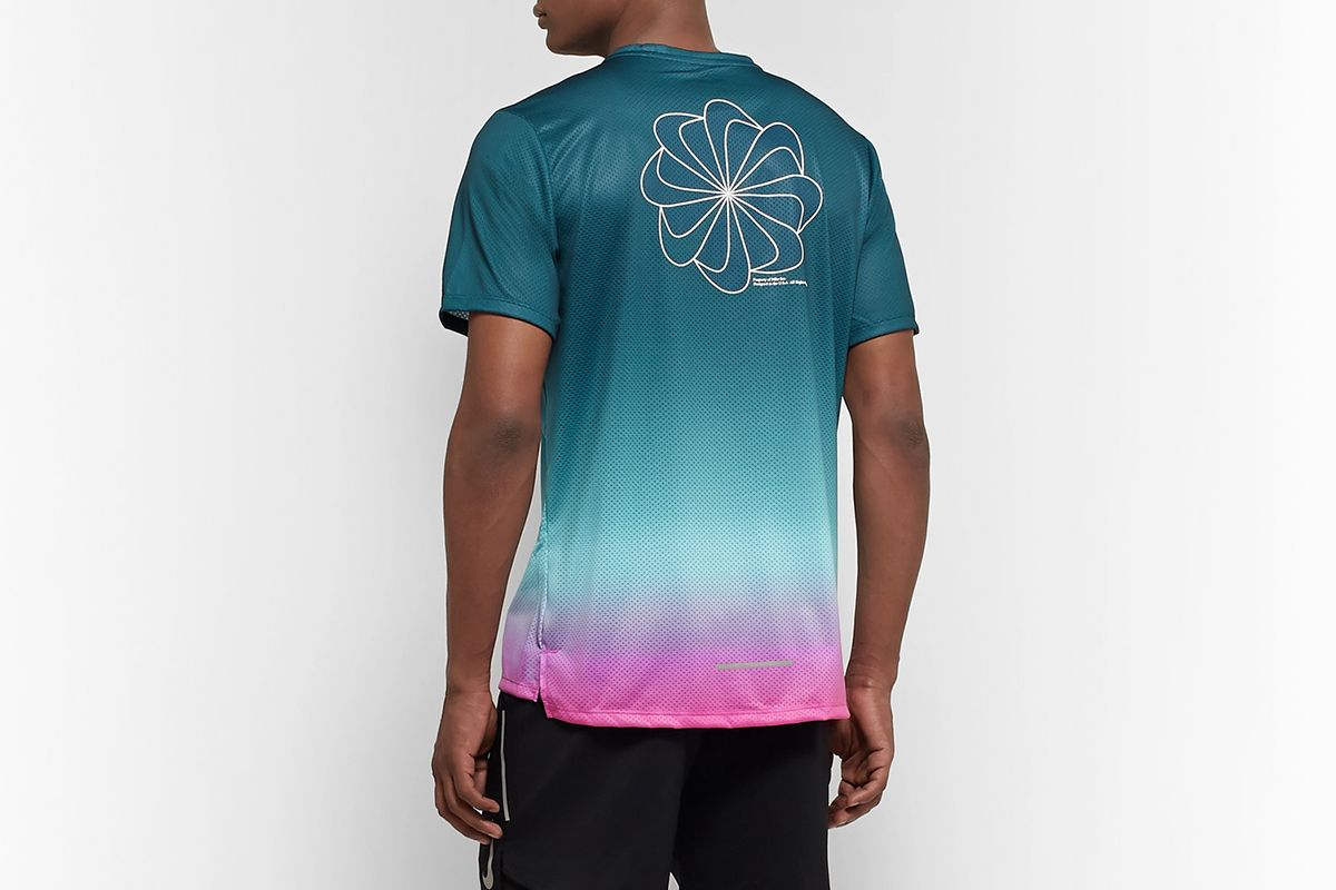 Miler Printed Degradé Dri-FIT T-Shirt