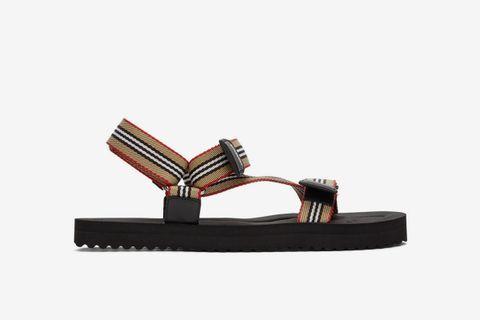 Icon Stripe Sandals