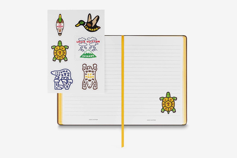 Clemence Notebook Damier Ebene Giant