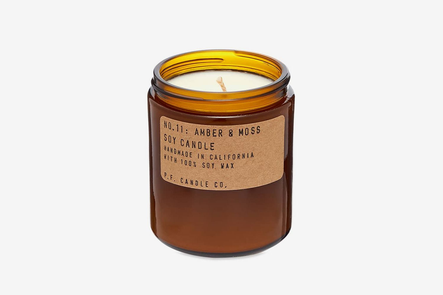No.11 Amber & Moss Soy Candle