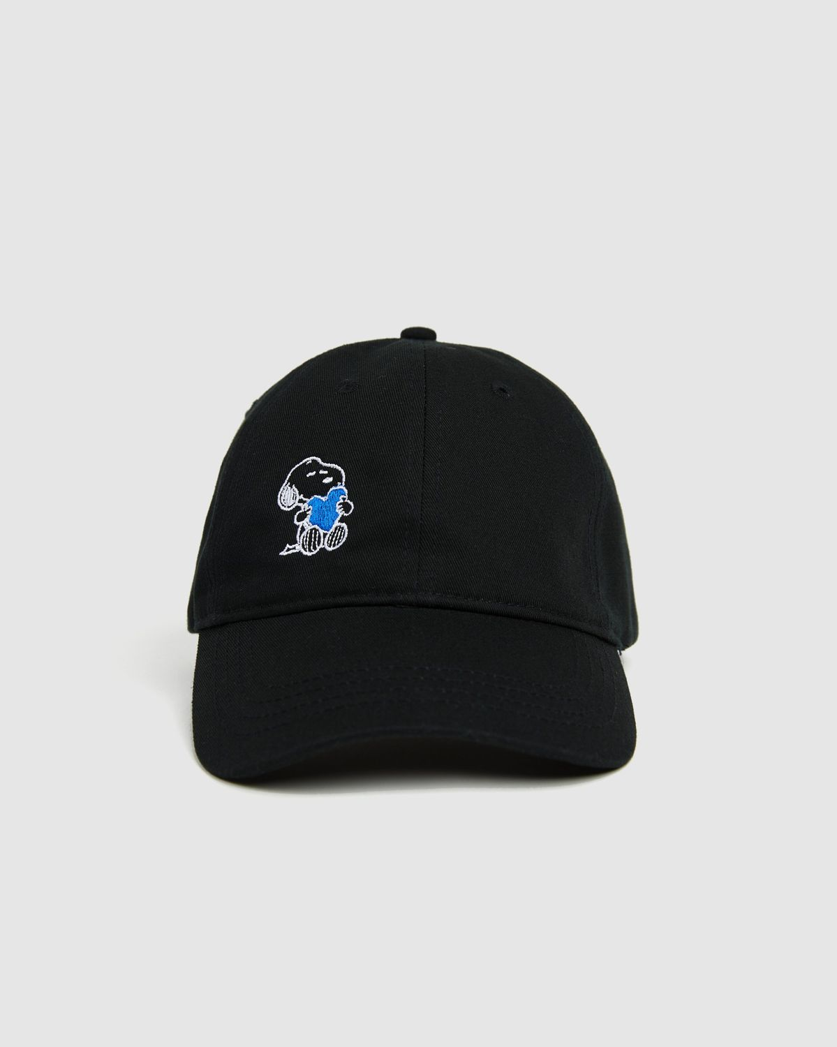 Colette Mon Amour x Soulland -  Snoopy Heart Black Baseball Cap - Image 4