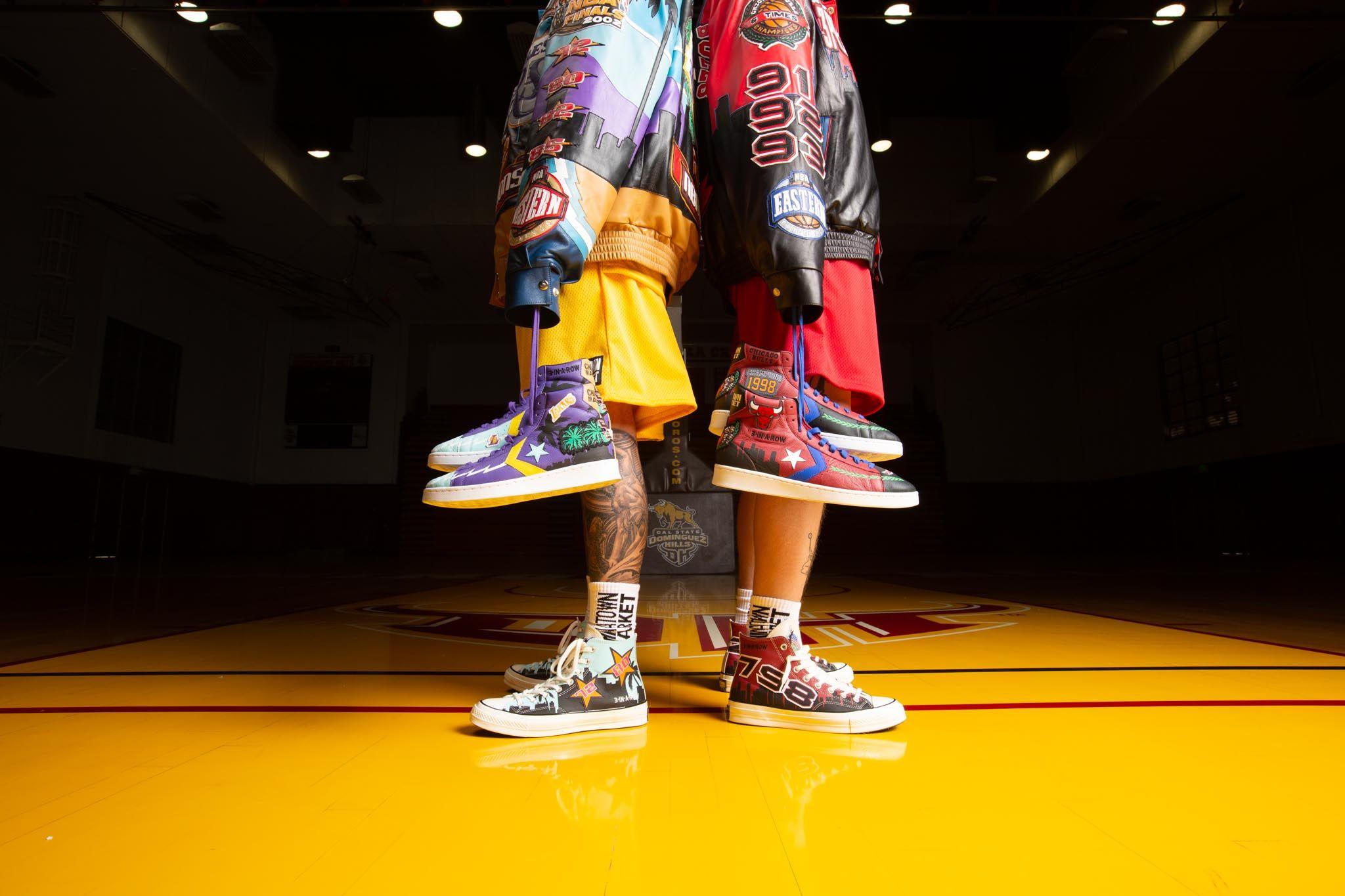 Jeff Hamilton's Iconic NBA Jackets Make Perfect Sense as Sneakers 3