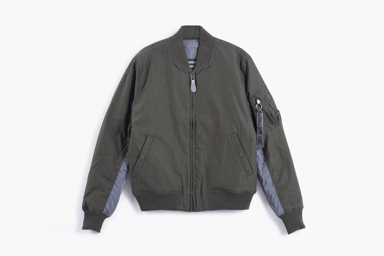 Reversible MA-1 Jacket
