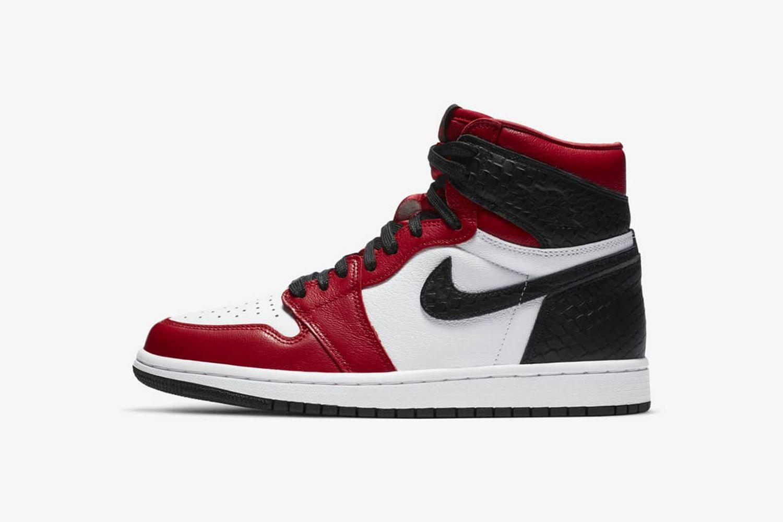 """Air Jordan 1 """"Satin Red"""""""