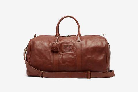 Heritage Leather Weekend Bag