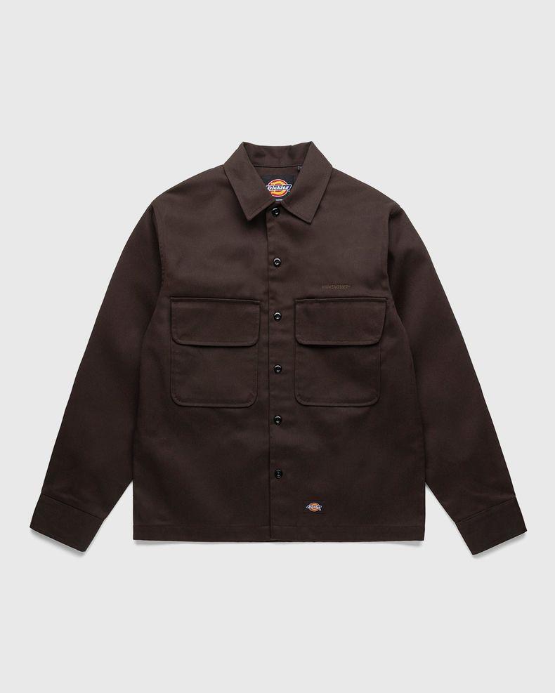 Highsnobiety x Dickies – Service Shirt Dark Brown