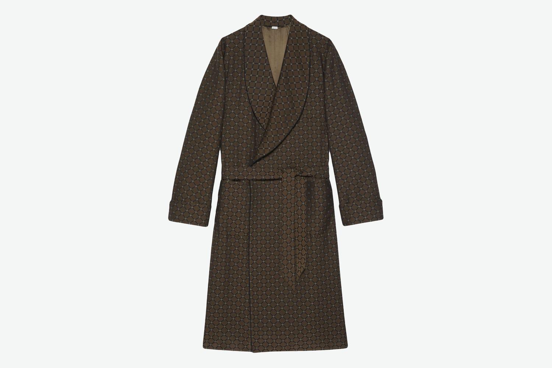Wraparound Tie-Waist Coat