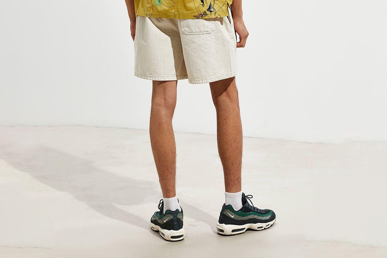 Pull On Denim Volley Short