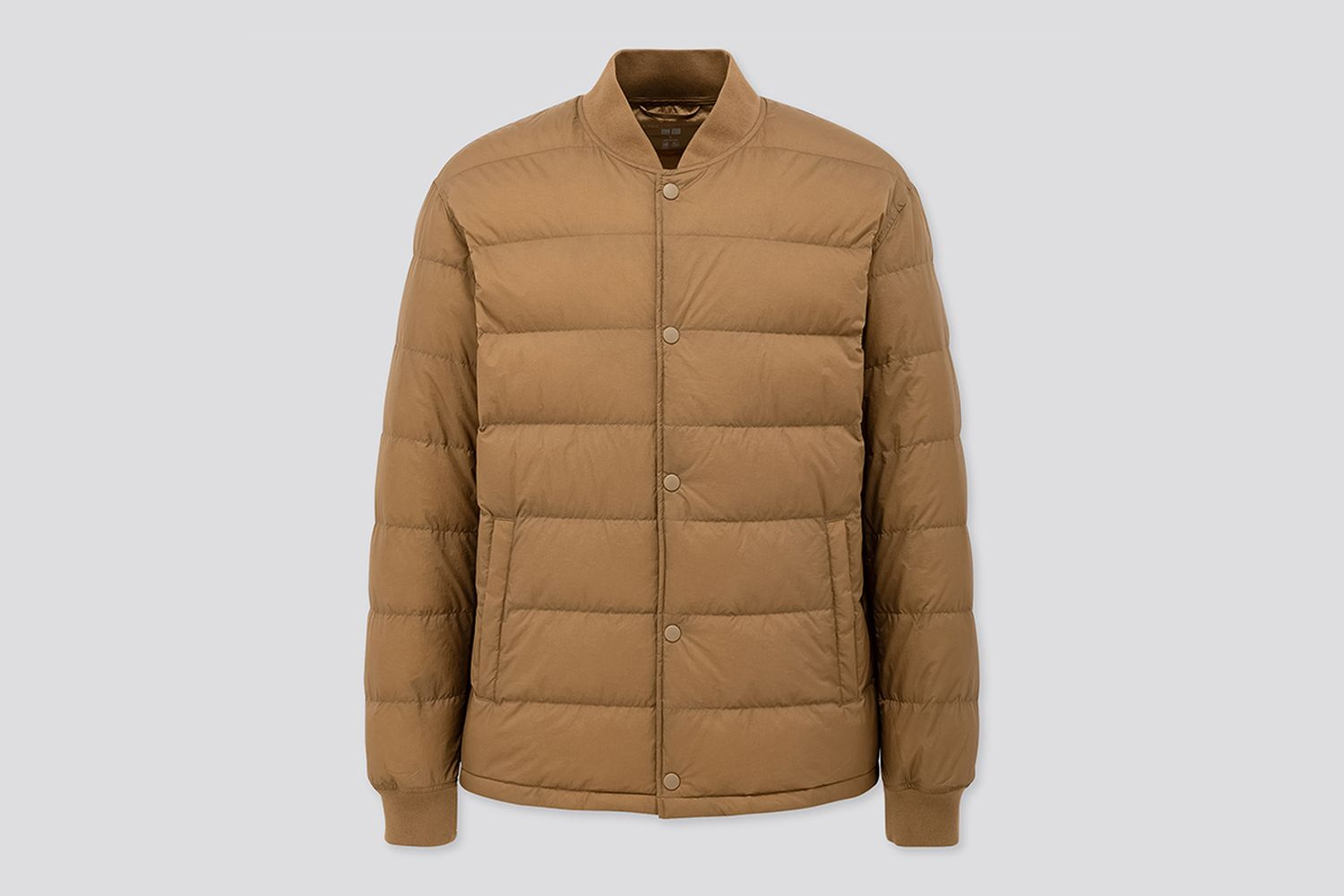 Ultra Light Down Ribbed Blouson