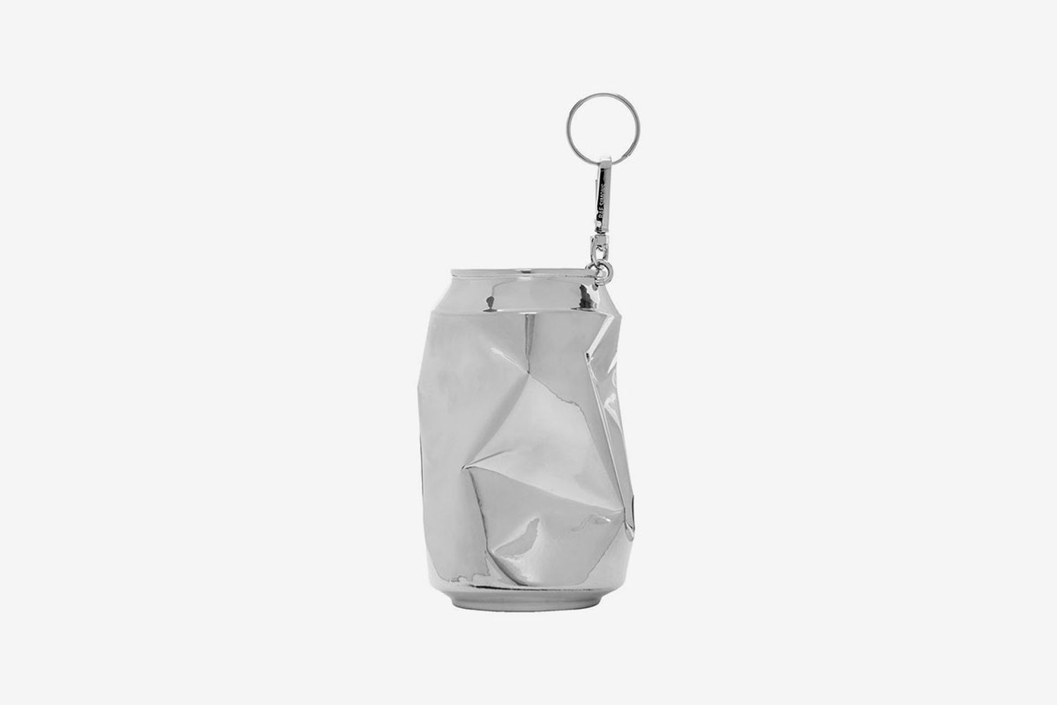 Half Crushed Can Keychain