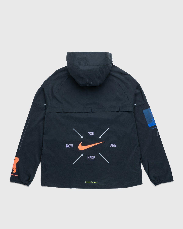 Nike x Highsnobiety – Mens Repel Berlin Windrunner Jacket Black - Image 2
