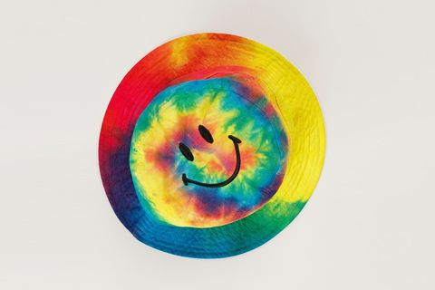 Smiley Rainbow Bucket Hat