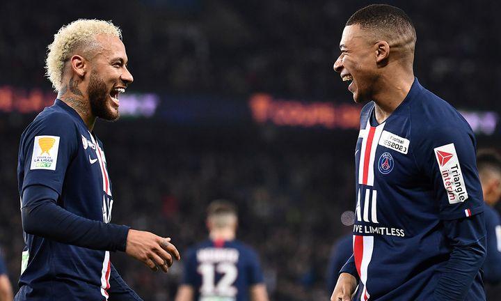 Paris Saint-Germain players
