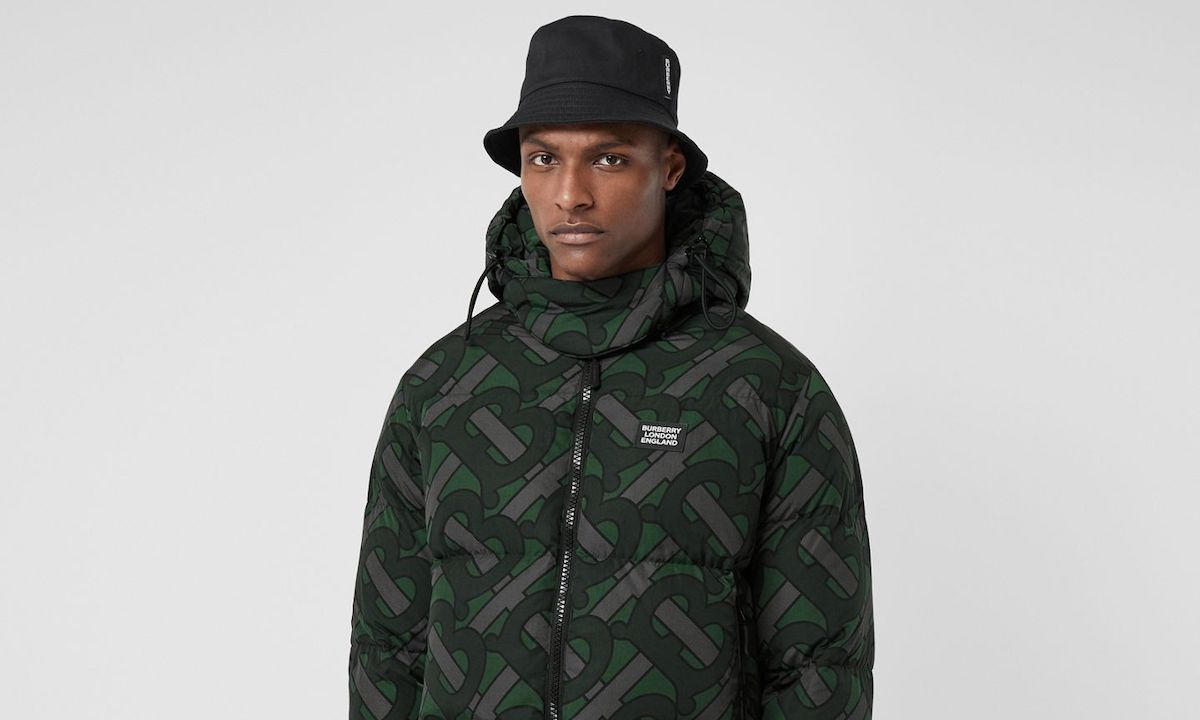 Burberry Drops a Collection Full of Monogram Puffers