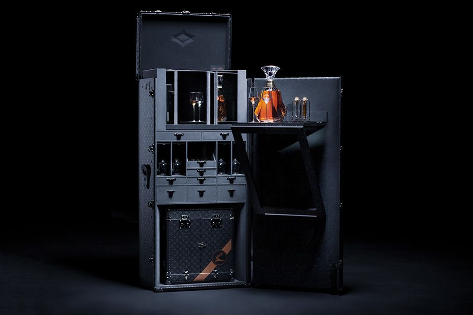 This Outrageous Hennessy x Louis Vuitton Drinks Trunk Costs $273,000