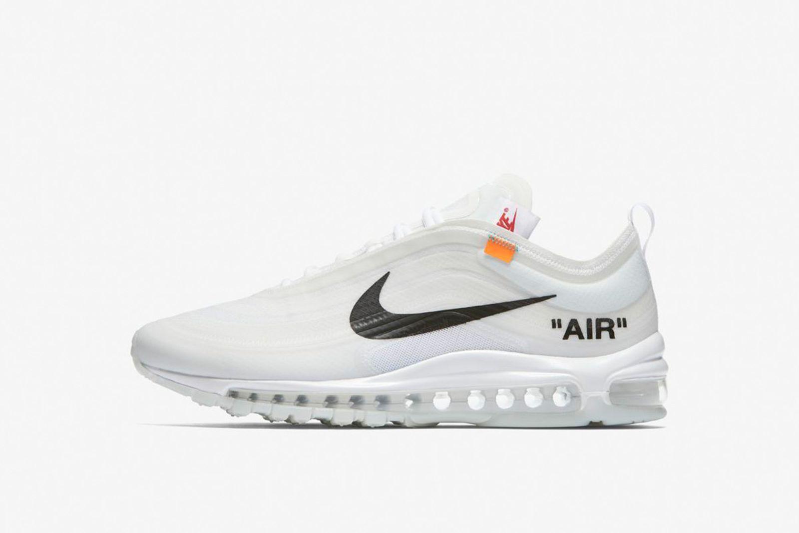 air max 97 GOAT Nike The Ten OFF-WHITE c/o Virgil Abloh