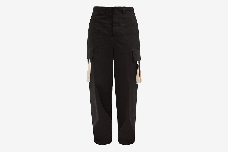 Alzu Cotton-Ripstop Cargo Trousers