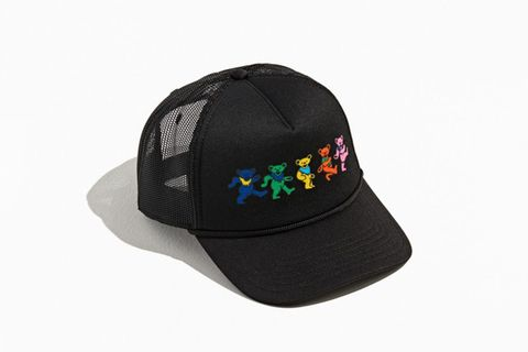Dancing Bear Trucker Hat