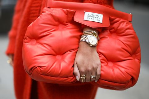 Maison Margiela red bag
