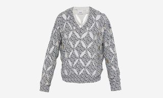 Burberry Drops $1,250 Cut-Out Monogram Sweater