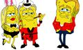 New Sponge Bob's by Mike Frederiqo – James Dean, Hugh Hefner & The Beatles