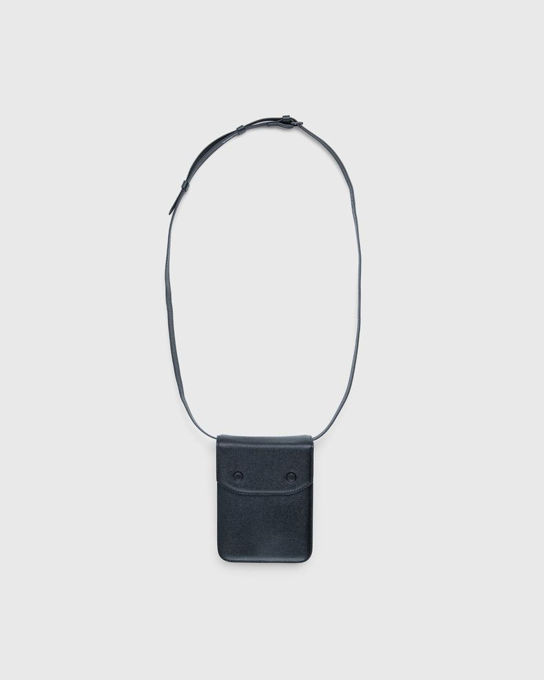 Maison Margiela – Small Leather Chest Pack Black