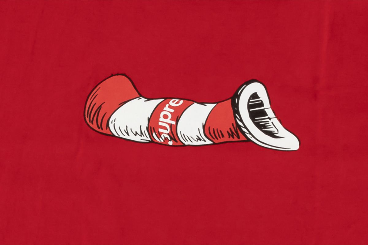 Cat In The Hat Tee