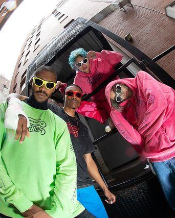 RETROSUPERFUTURE & IUTER Drop Colorful Sportswear-Inspired Sunglasses
