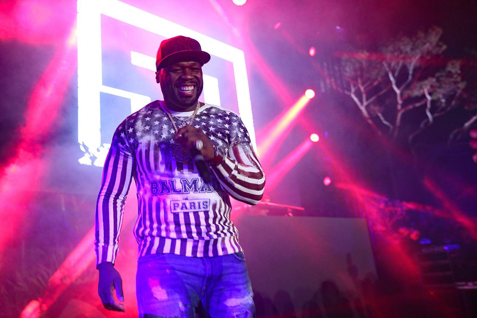 50 cent feuding rapper