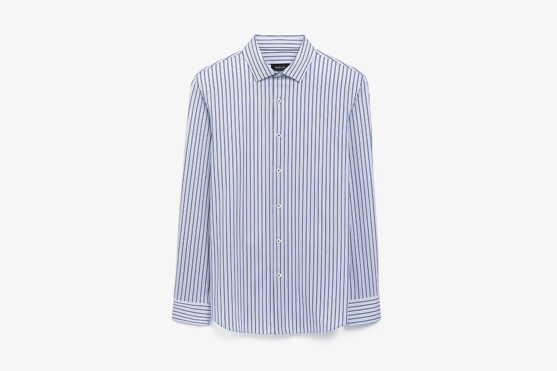 Striped Long SleeveOoohCotton® Performance Shirt