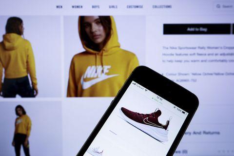 Nike mobile app website