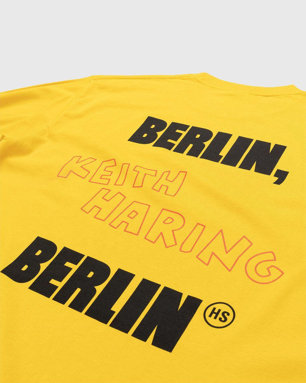Highsnobiety x Keith Haring – Longsleeve Yellow - Image 4