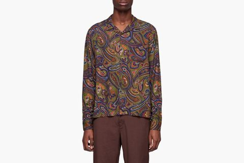 Cypress Paisley Long Sleeve Shirt