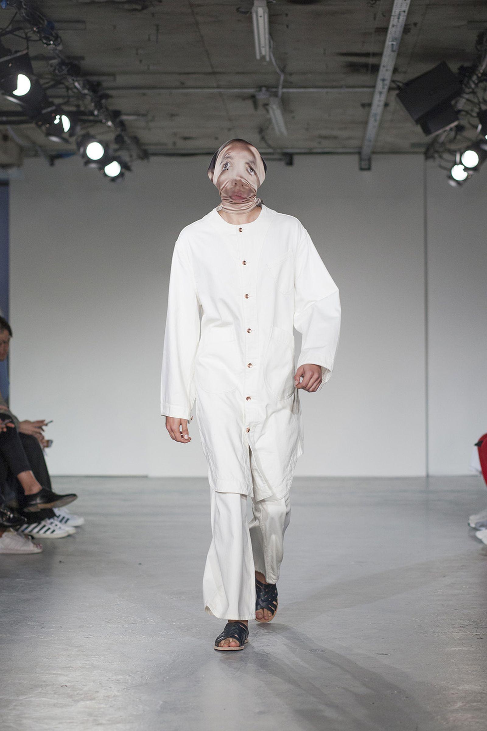 alex mullins ss18 London Fashion Week Men's SS18 runway