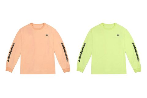 f84259588 These YEEZY Calabasas Long Sleeves Are Now Available in 2 Neon Colorways