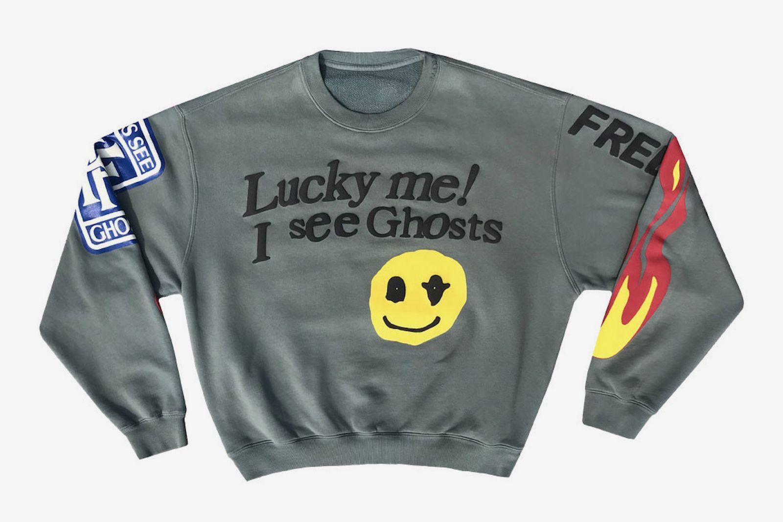 cactus plant flea market kids see ghosts sweatshirt