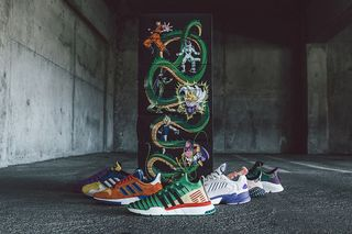 on sale 46b7f f17d7 Heres a Complete Look at the Dragon Ball Z x adidas Collection
