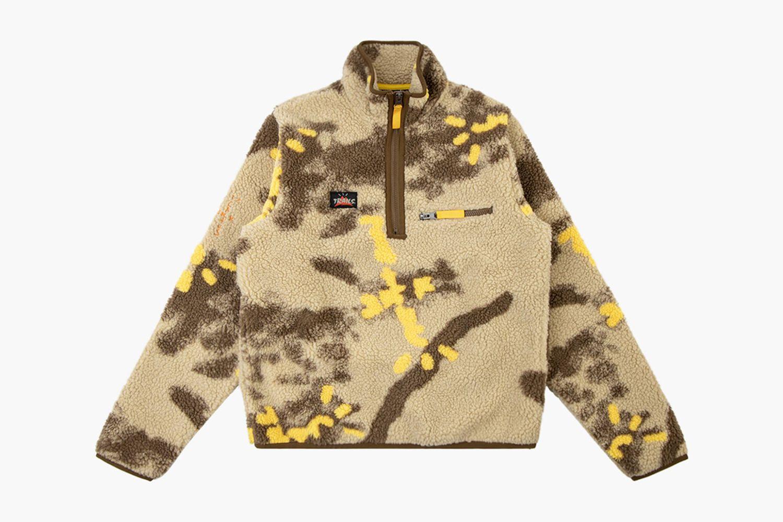 Cactus Jack Half-Zip Sherpa Pullover