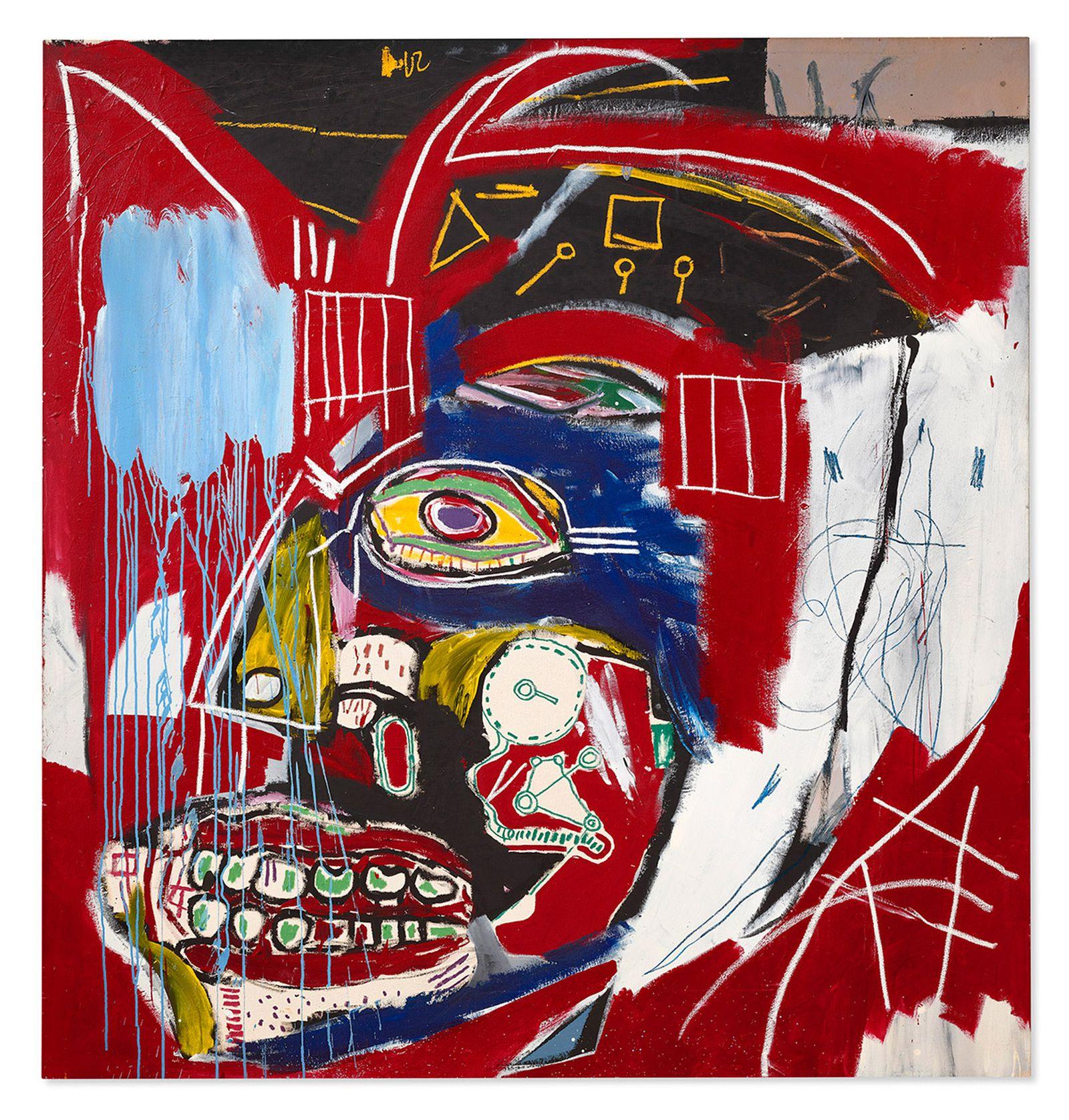 Jean-Michel Basquiat, In This Case (1983)