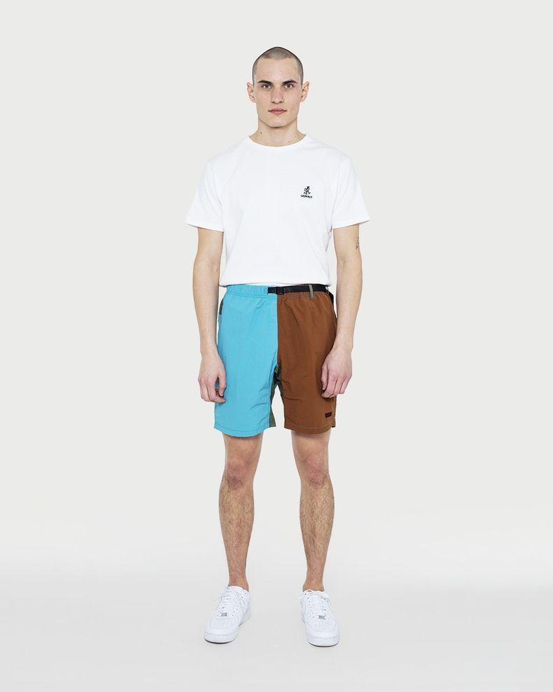 Gramicci — Shell Packable Shorts Aqua/Mocha