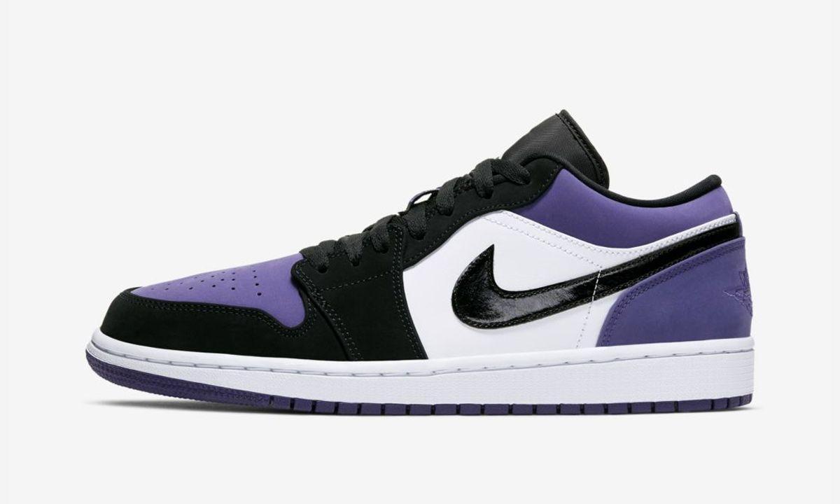 air jordan 1 violet