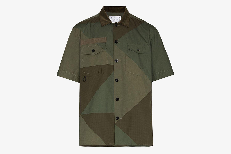 Solid Mix Shirt
