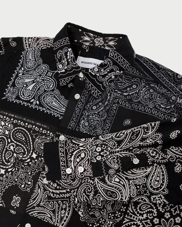 Miyagihidetaka — Bandana Shirt Black - Image 5