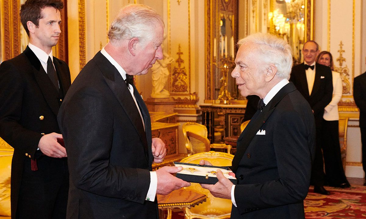 Ralph Lauren Is the First American Fashion Designer to Become a Knight
