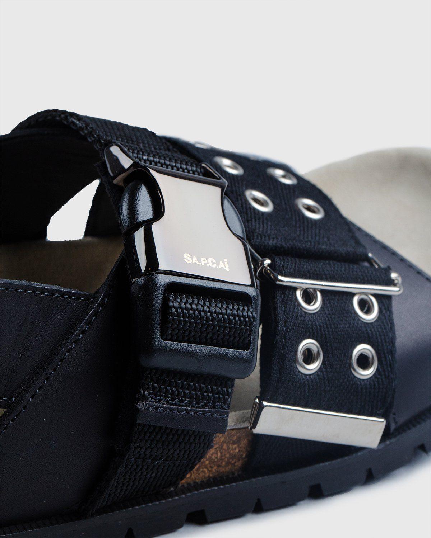 A.P.C. x Sacai — Sandals Black - Image 6