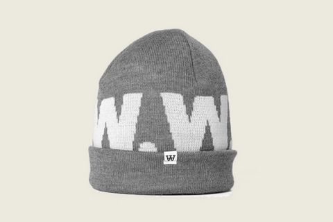 ad4eb50696c Its from soft Merino-Wool. This classic beanie features a knitted logo and  small brand tab on the brim.
