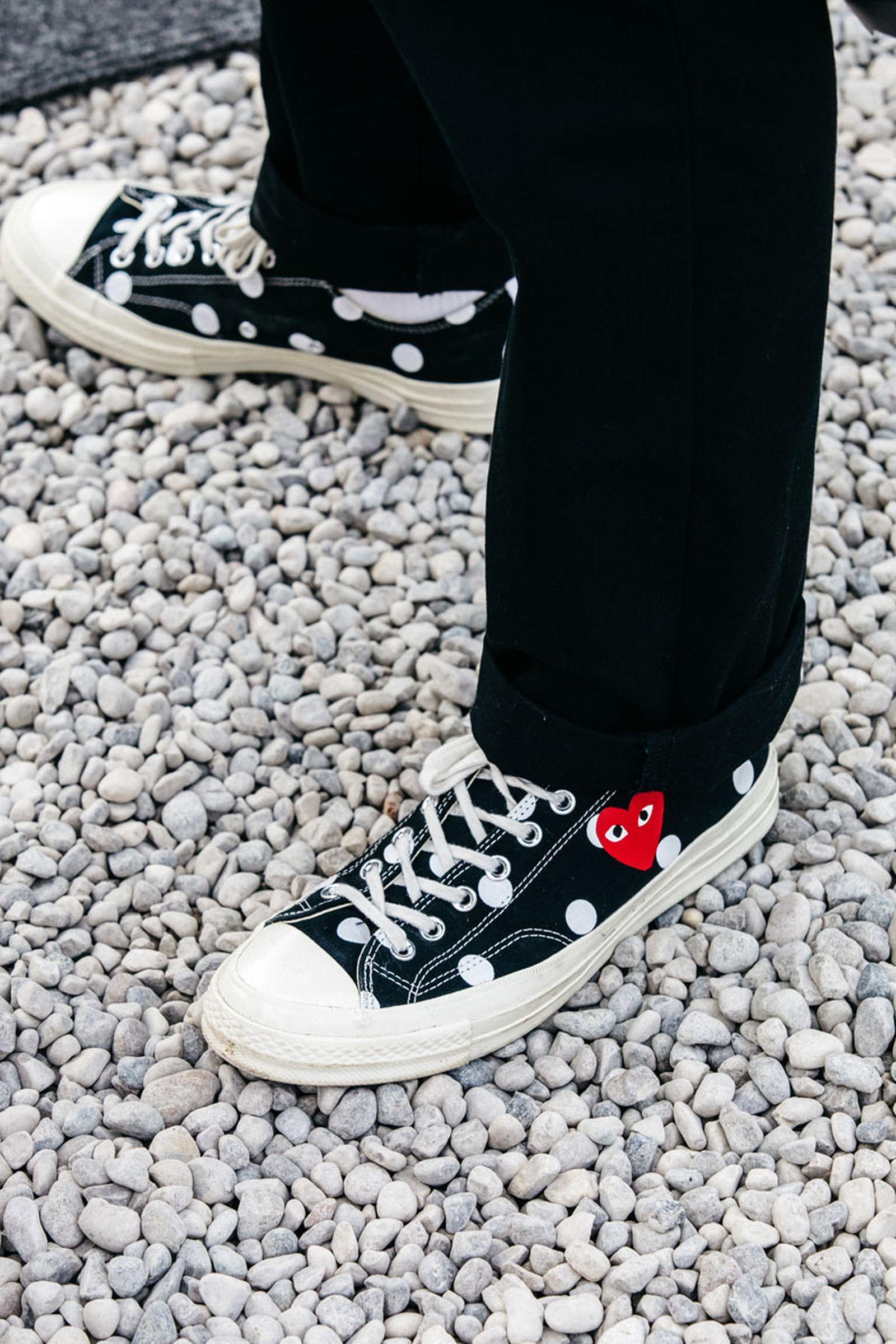 sneaker street style pitti uomo fw19 Pitti Oumo FW19