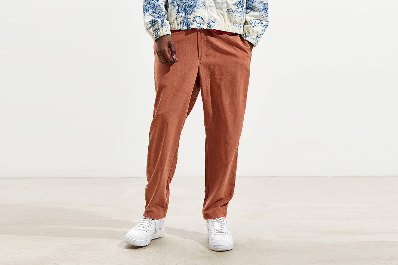 Faux Silk Easy Pant