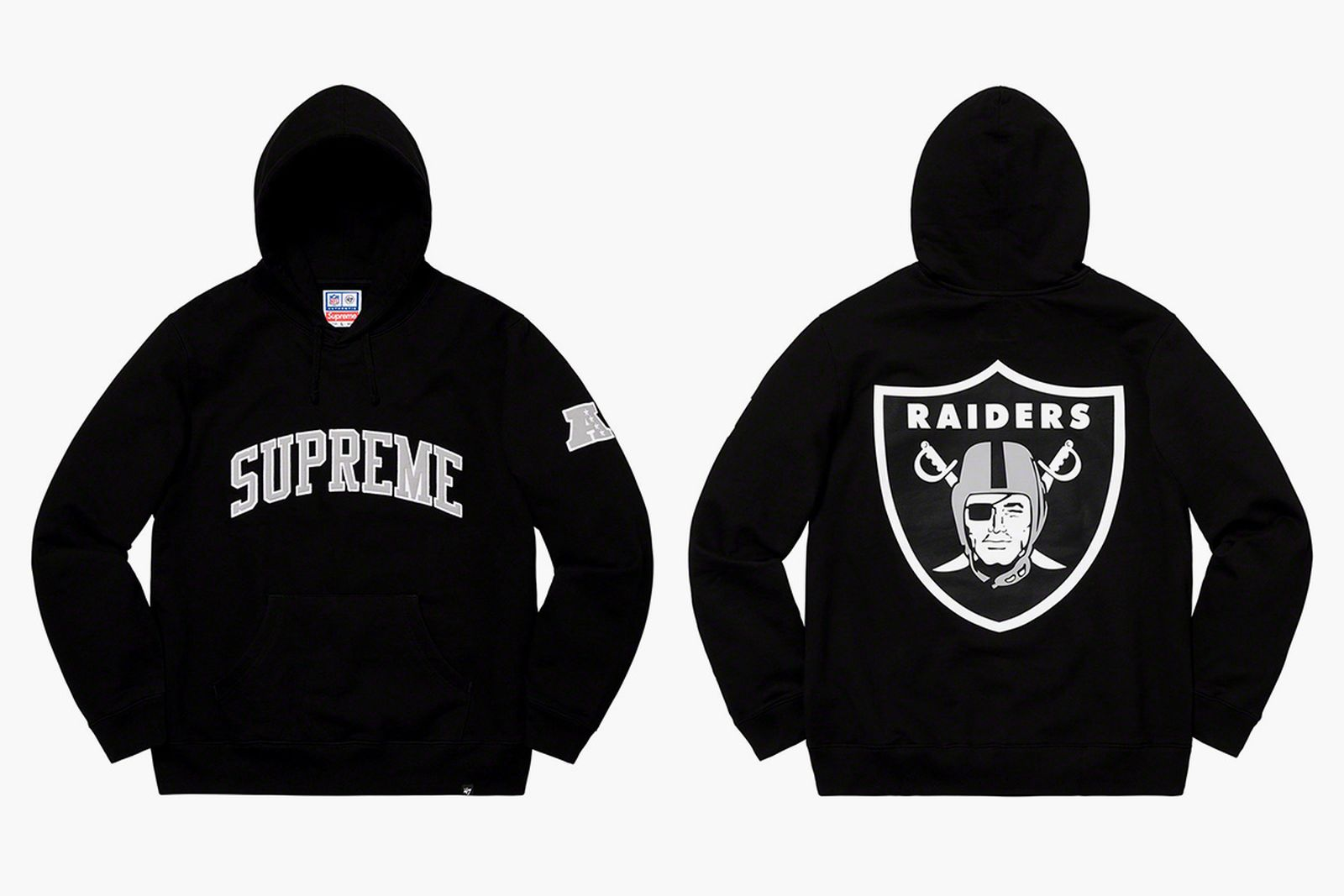 supreme raiders nfl spring 19 collection '47